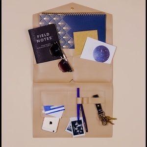 Handbags - Beige glass and ladder co Megan portfolio